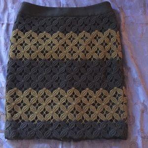 LOFT Petites Knit Skirt